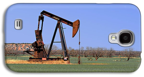 Pump Jack A Texas Icon Galaxy S4 Case