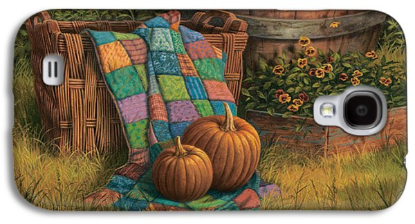 Pumpkin Galaxy S4 Case - Pumpkins And Patches by Michael Humphries