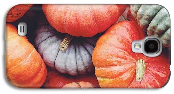 Pumpkins Galore Galaxy S4 Case by Kim Fearheiley