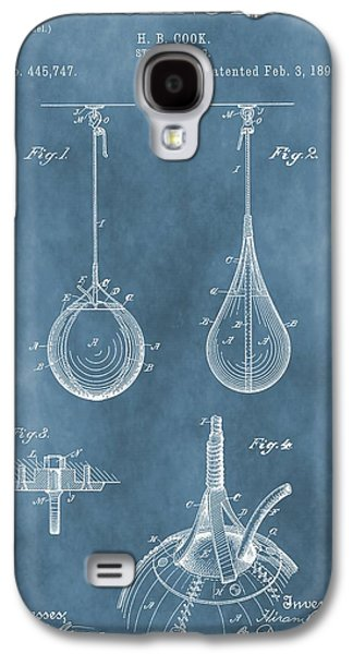 Punching Bag Patent Galaxy S4 Case by Dan Sproul