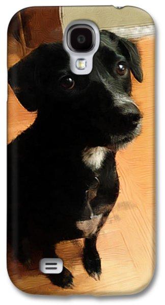 Puppy Dog Eyes Galaxy S4 Case