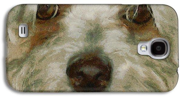 Puppy Eyes Galaxy S4 Case by Ernie Echols