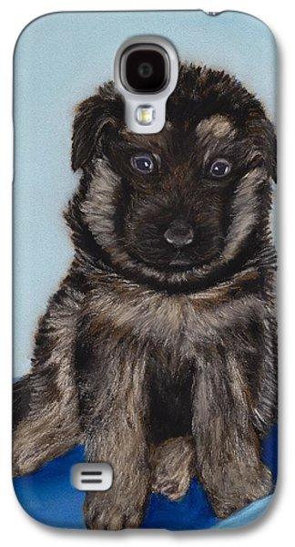 Puppy - German Shepherd Galaxy S4 Case