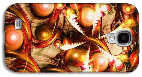 Pure Energy Galaxy S4 Case by Anastasiya Malakhova