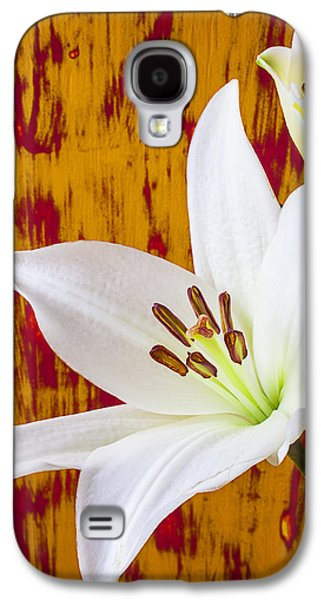 Pure White Lily Galaxy S4 Case