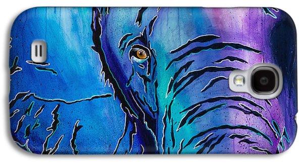 Purple Elephant Galaxy S4 Case