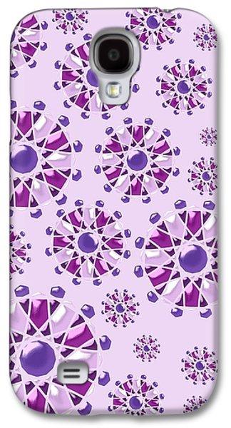 Purple Gems Galaxy S4 Case