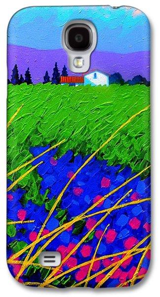 Purple Hills Galaxy S4 Case by John  Nolan