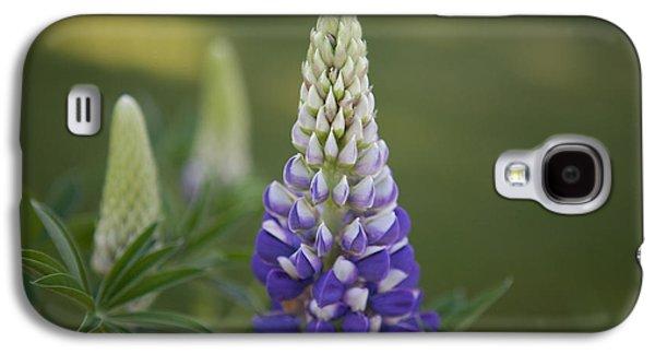 Purple Lupine Galaxy S4 Case