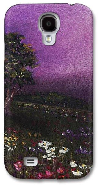 Purple Meadow Galaxy S4 Case