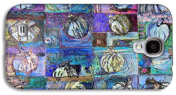 Purple Onions Galaxy S4 Case by Mindy Newman