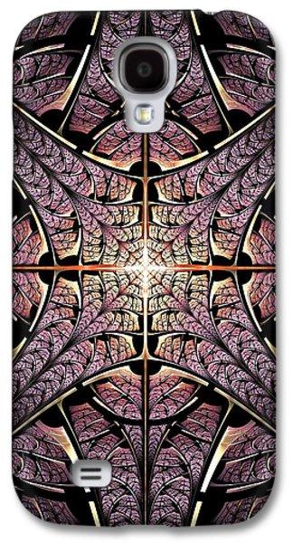 Purple Shield Galaxy S4 Case by Anastasiya Malakhova