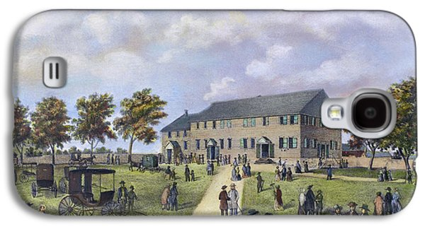 Quaker Meeting House, 1857 Galaxy S4 Case by Granger