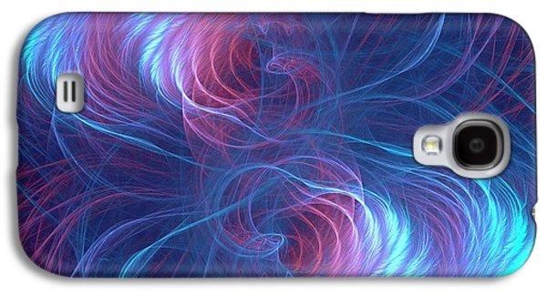 Quantum Entanglement Conceptual Image Galaxy S4 Case by David Parker