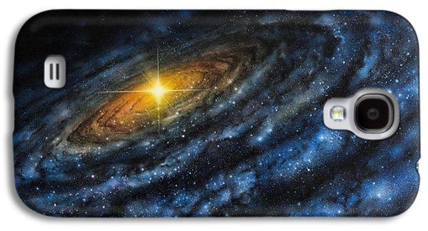 Quasar Galaxy S4 Case by Don Dixon