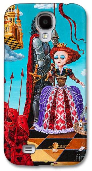 Queen Of Hearts. Part 1 Galaxy S4 Case