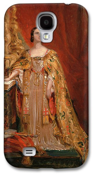 Queen Victoria Taking The Coronation Oath, June 28 Galaxy S4 Case by Litz Collection
