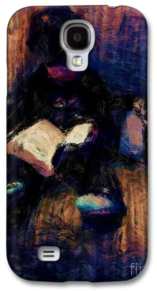 Quiet Time Galaxy S4 Case by Claire Bull