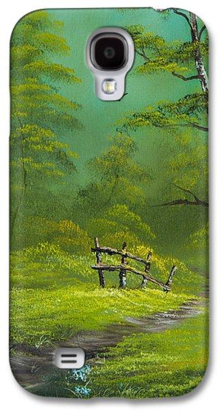 Quiet Trail Galaxy S4 Case by C Steele