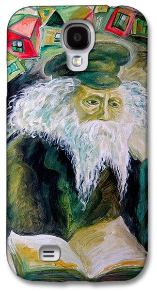 Rabbi Yosef Rosen The Rogatchover Gaon Galaxy S4 Case by  Leon Zernitsky