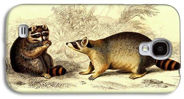 Raccoons Galaxy S4 Case by Collection Abecasis
