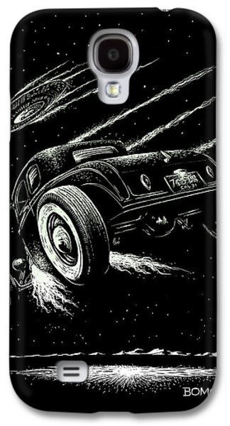 Race To The Moon IIi Galaxy S4 Case