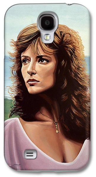 Rachel Ward Galaxy S4 Case by Paul Meijering