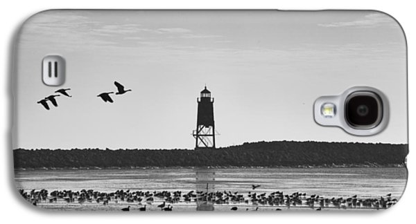 Galaxy S4 Case featuring the photograph Racine Lakefront by Ricky L Jones