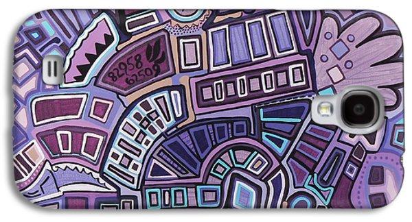 Radio Active Galaxy S4 Case by Barbara St Jean