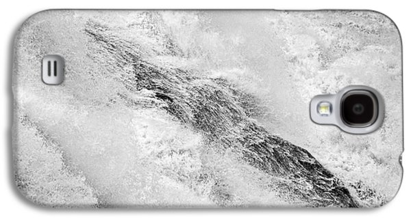 Raging - Close Up Of A Roaring Waterfall Galaxy S4 Case