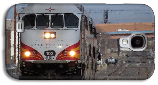 Rail Runner Galaxy S4 Case by Feva  Fotos