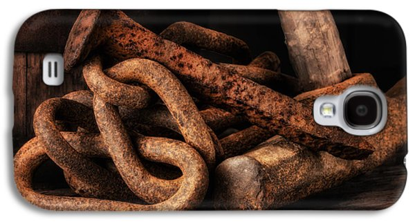 Railroad Spike Still Life Galaxy S4 Case