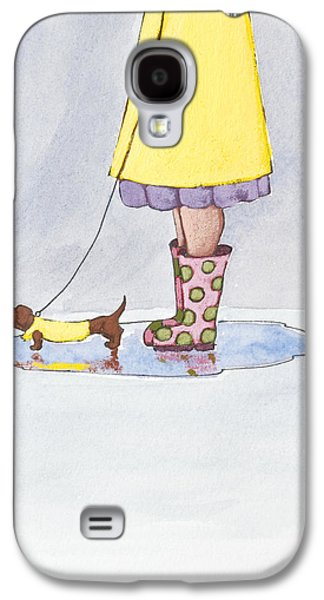 Rain Boots Galaxy S4 Case by Christy Beckwith