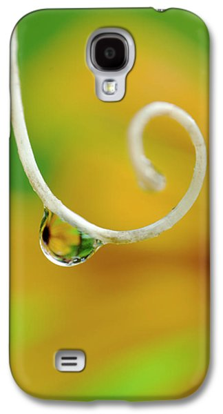 Rain Drop With Flower Reflected Galaxy S4 Case by Jaynes Gallery