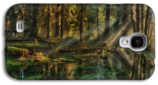 Rain Forest Sunbeams Galaxy S4 Case