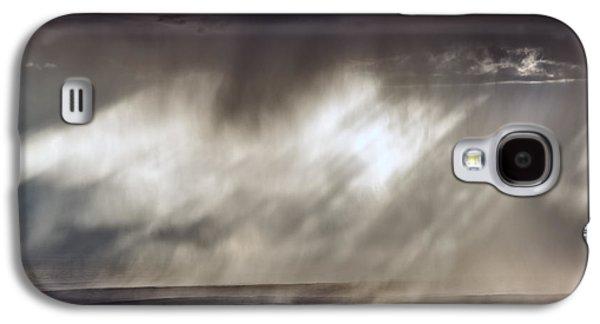 Rain Patterns Galaxy S4 Case by Leland D Howard