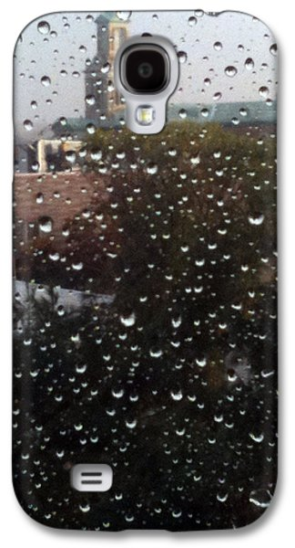 Rain Ride On Subway Galaxy S4 Case