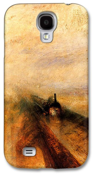 Train Galaxy S4 Case - Rain Steam And Speed.  by J M W Turner