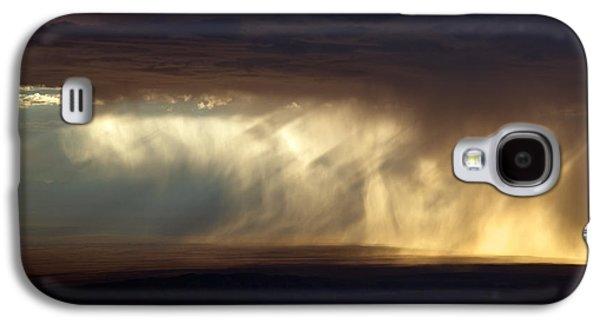 Rain Storm Galaxy S4 Case by Leland D Howard