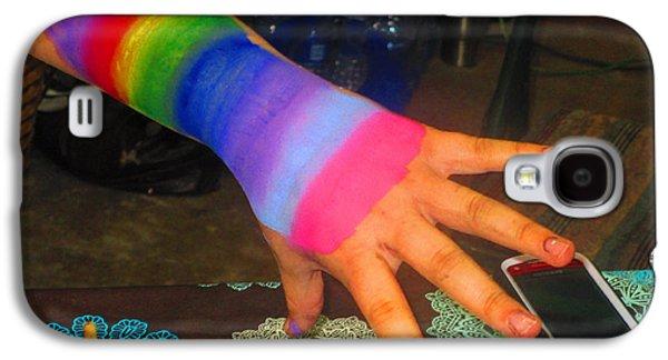 Rainbow Arm Galaxy S4 Case