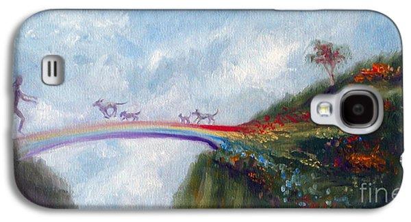 Bridges Galaxy S4 Case - Rainbow Bridge by Stella Violano