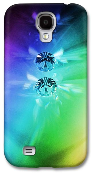 Rainbow Crystals Galaxy S4 Case by Marianna Mills