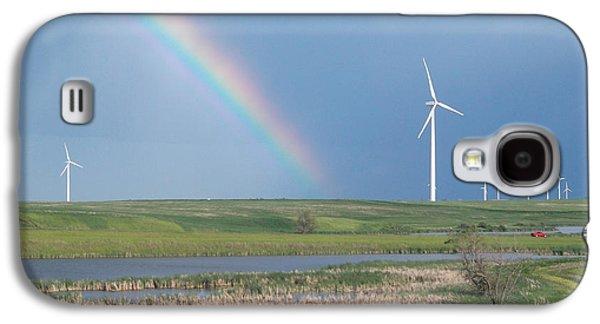 Rainbow Delight Galaxy S4 Case by Angela Pelfrey