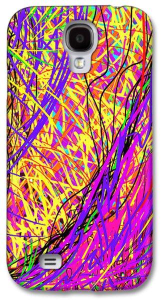 Rainbow Divine Fire Light Galaxy S4 Case