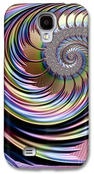 Rainbow Fronds Galaxy S4 Case by John Edwards