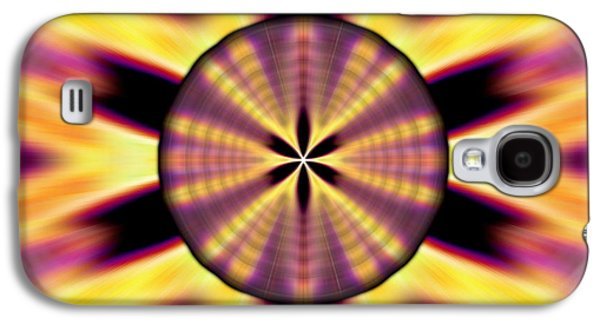 Rainbow Seed Of Life Galaxy S4 Case by Derek Gedney