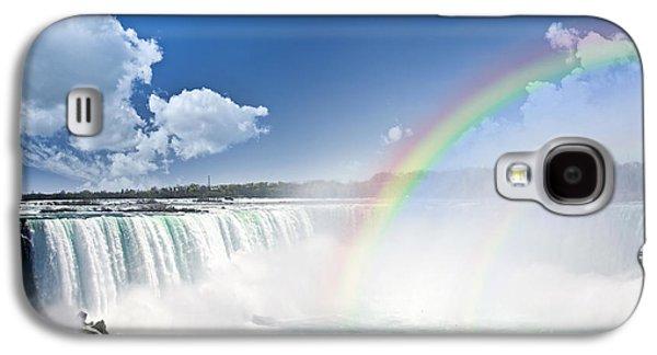 Rainbows At Niagara Falls Galaxy S4 Case by Elena Elisseeva