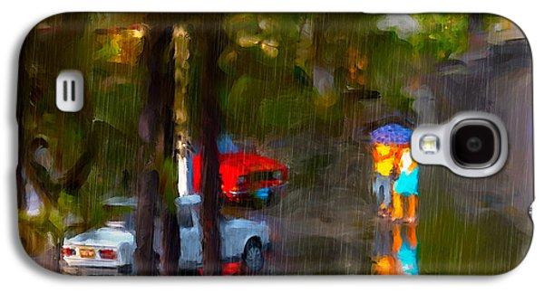 Raindrops At Cuba Galaxy S4 Case by Juan Carlos Ferro Duque