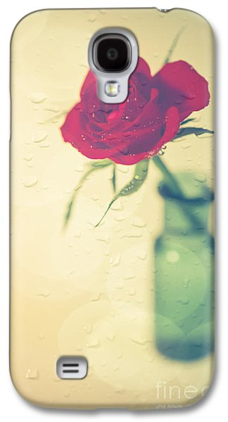 Raindrops On Roses . . . Galaxy S4 Case by Jan Bickerton