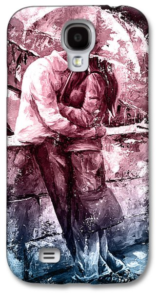 Rainy Day - Love In The Rain #color01 Galaxy S4 Case by Emerico Imre Toth
